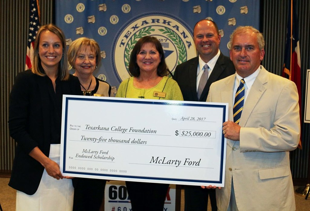 texas workforce commission partners with texarkana college and mclarty ford to benefit ne texas workers mclarty ford to benefit ne texas workers