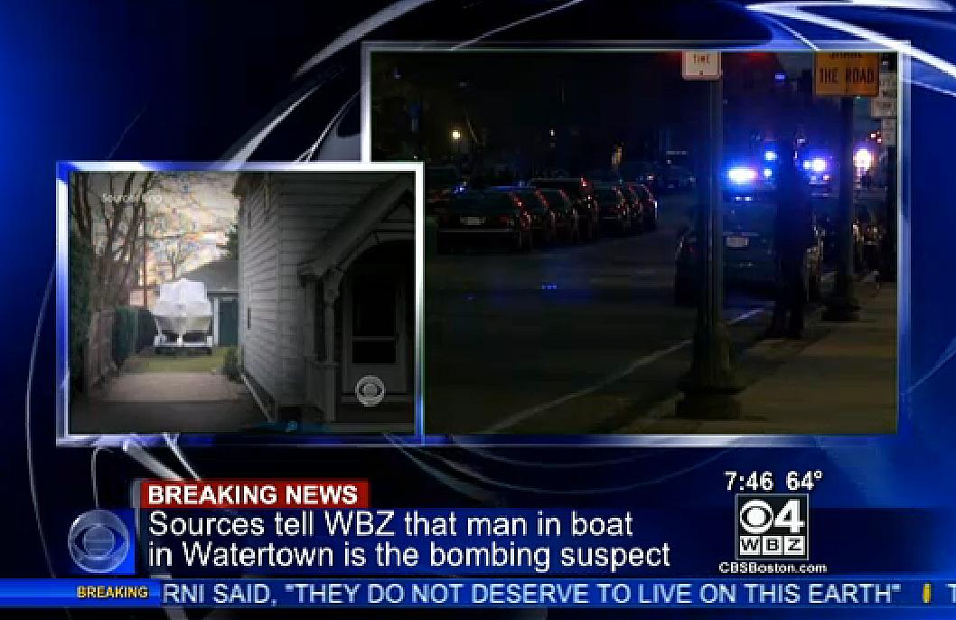 UPDATE] 19-Year-Old Boston Marathon Bombing Suspect Captured