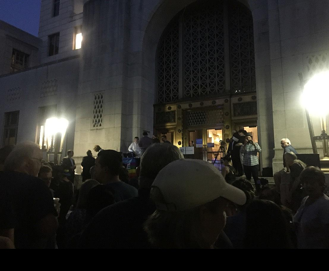 Hundreds Gather For Candlelight Vigil