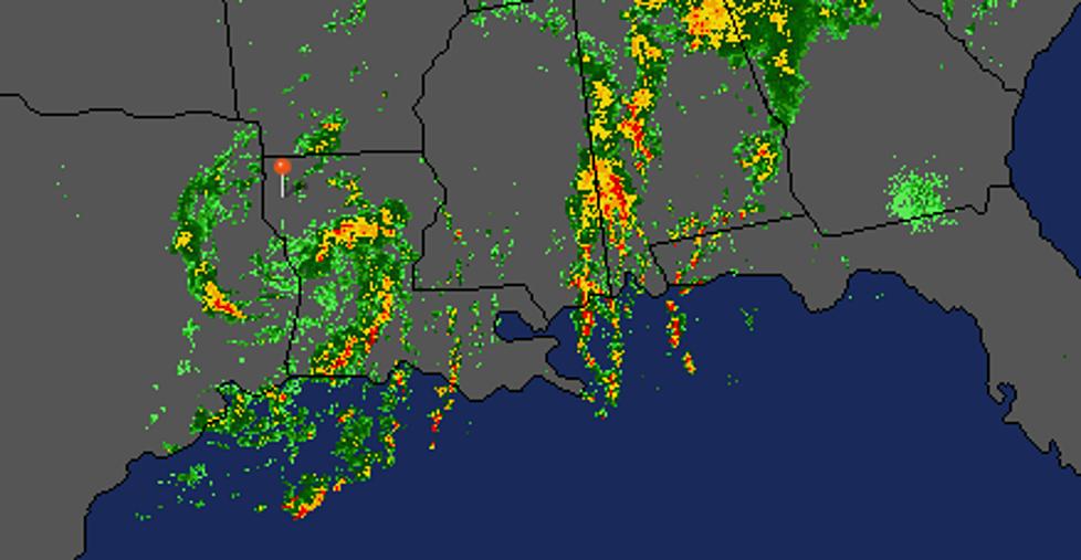 Tropical Storm Cindy Will Dump Heavy Rains Across the Region