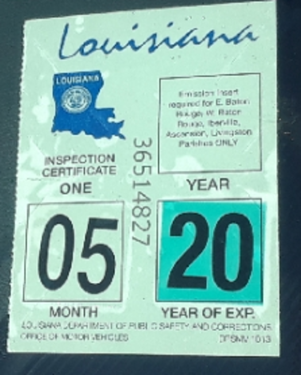 Louisiana Could Do Away With Inspection Stickers