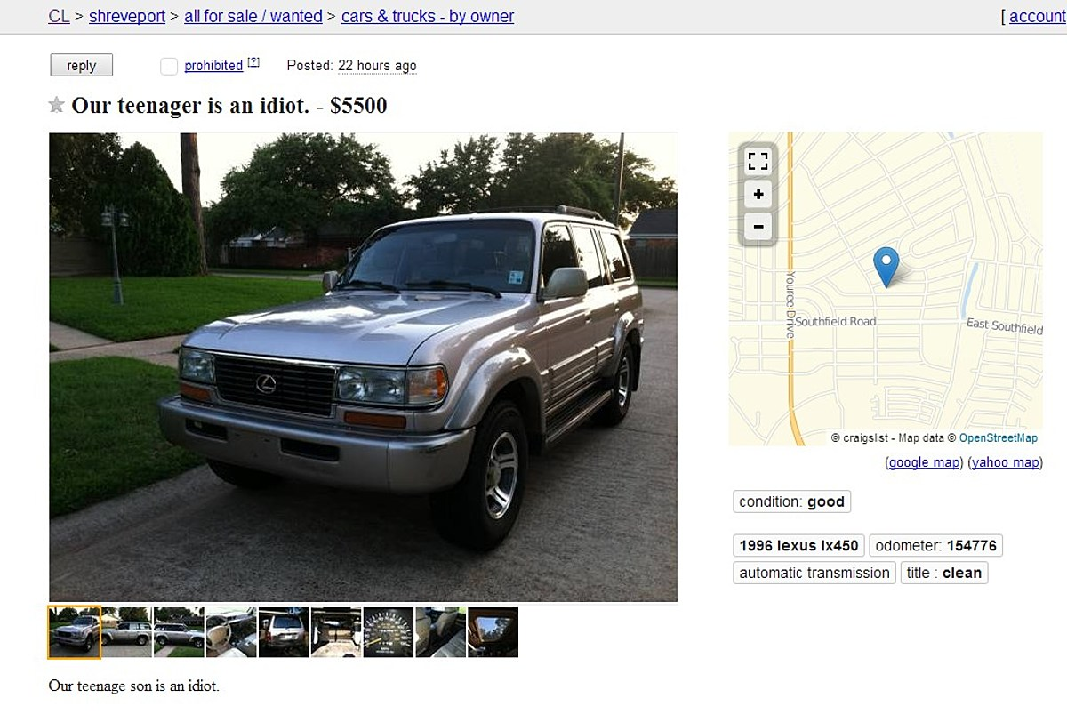 The Best Craigslist Ad EVER!