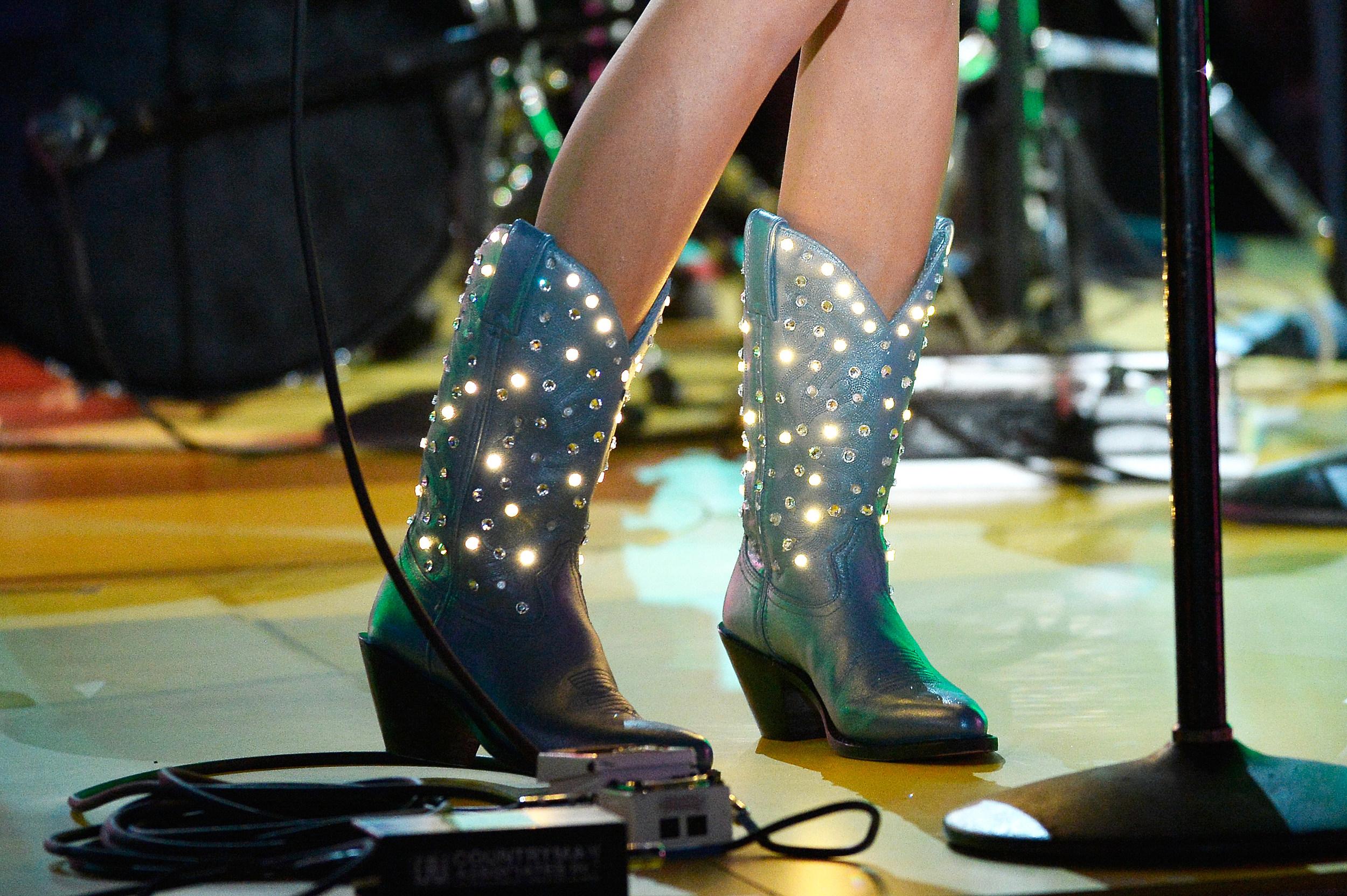Own Kacey Musgraves Light-Up Boots
