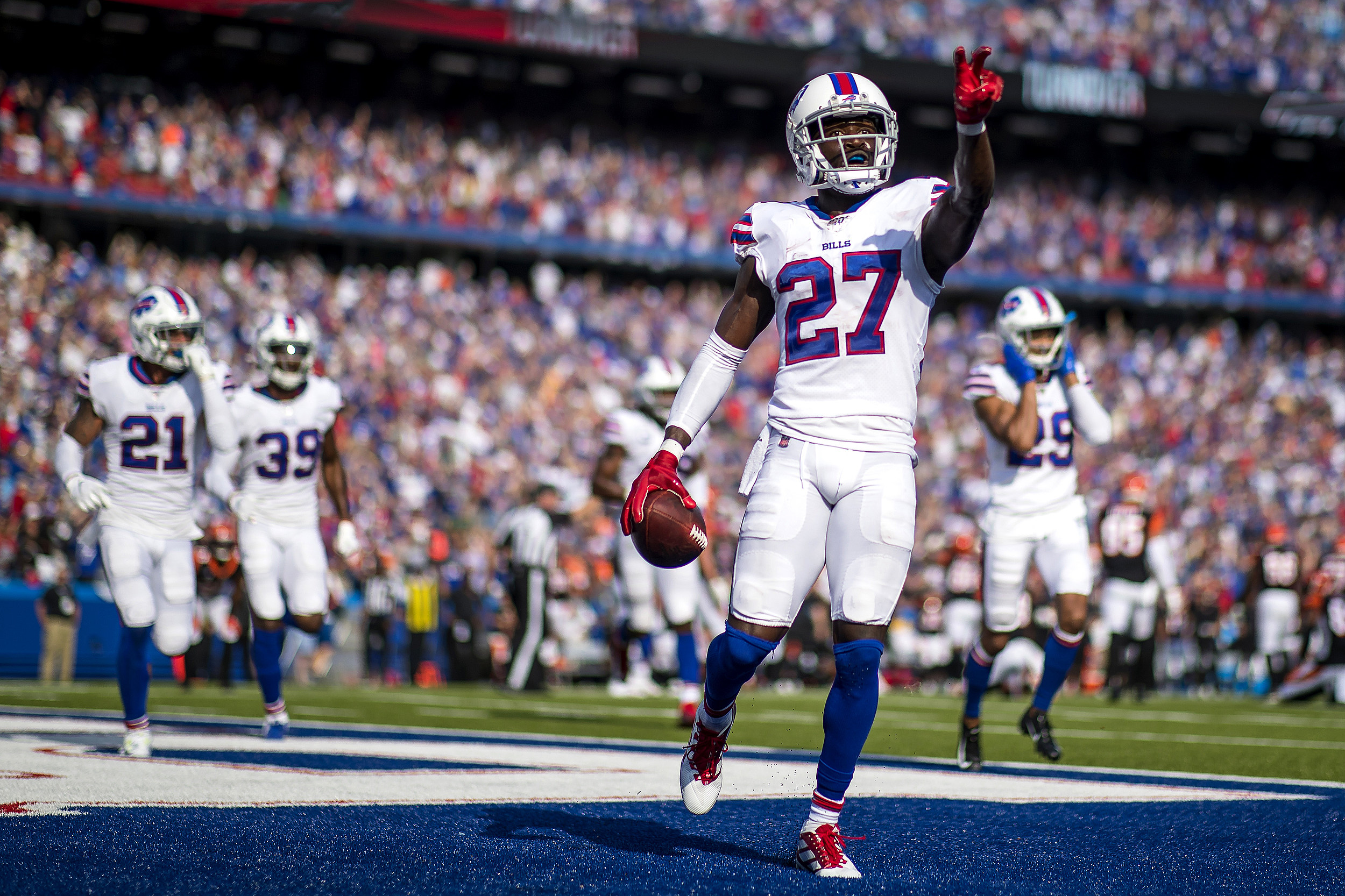 Tre'Davious White Wears A Shreveport Jersey To NFL Game