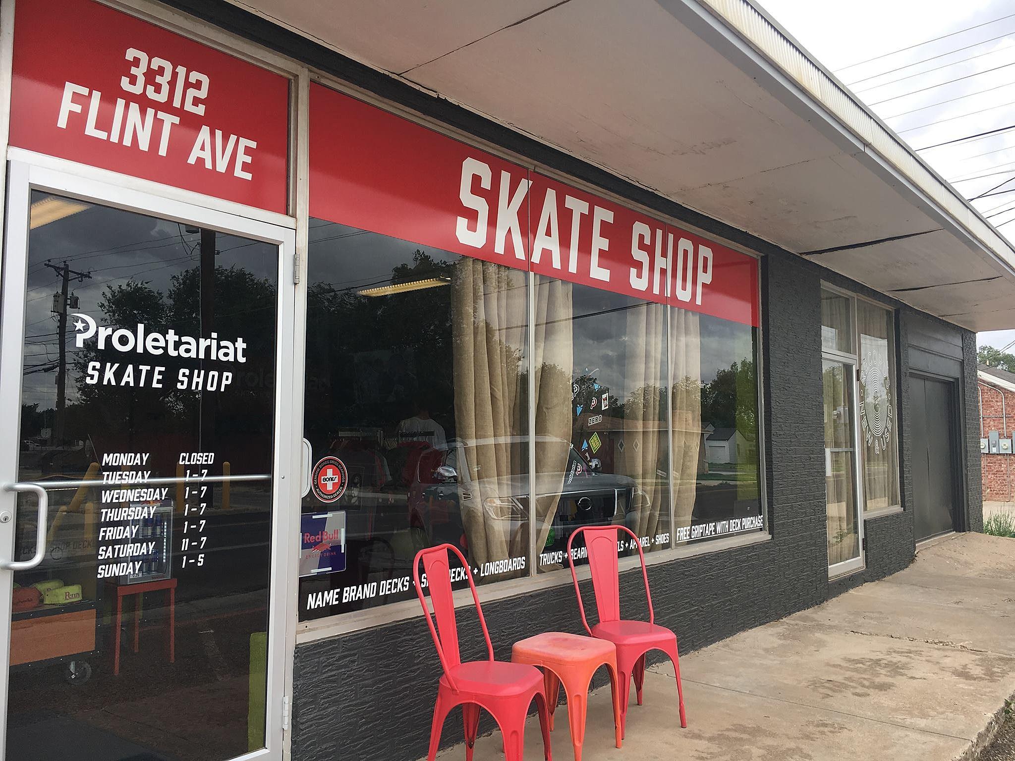 Proletariat Skateboard Co  Shop Now Open in Central Lubbock
