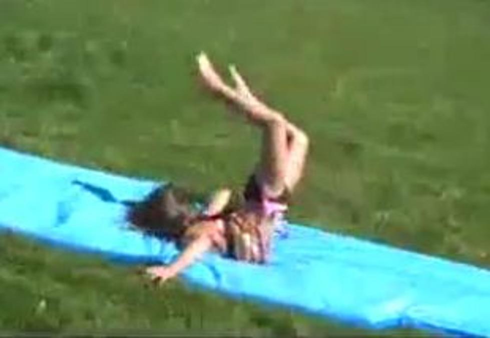 Funny Slip n Slide Fail! - video dailymotion