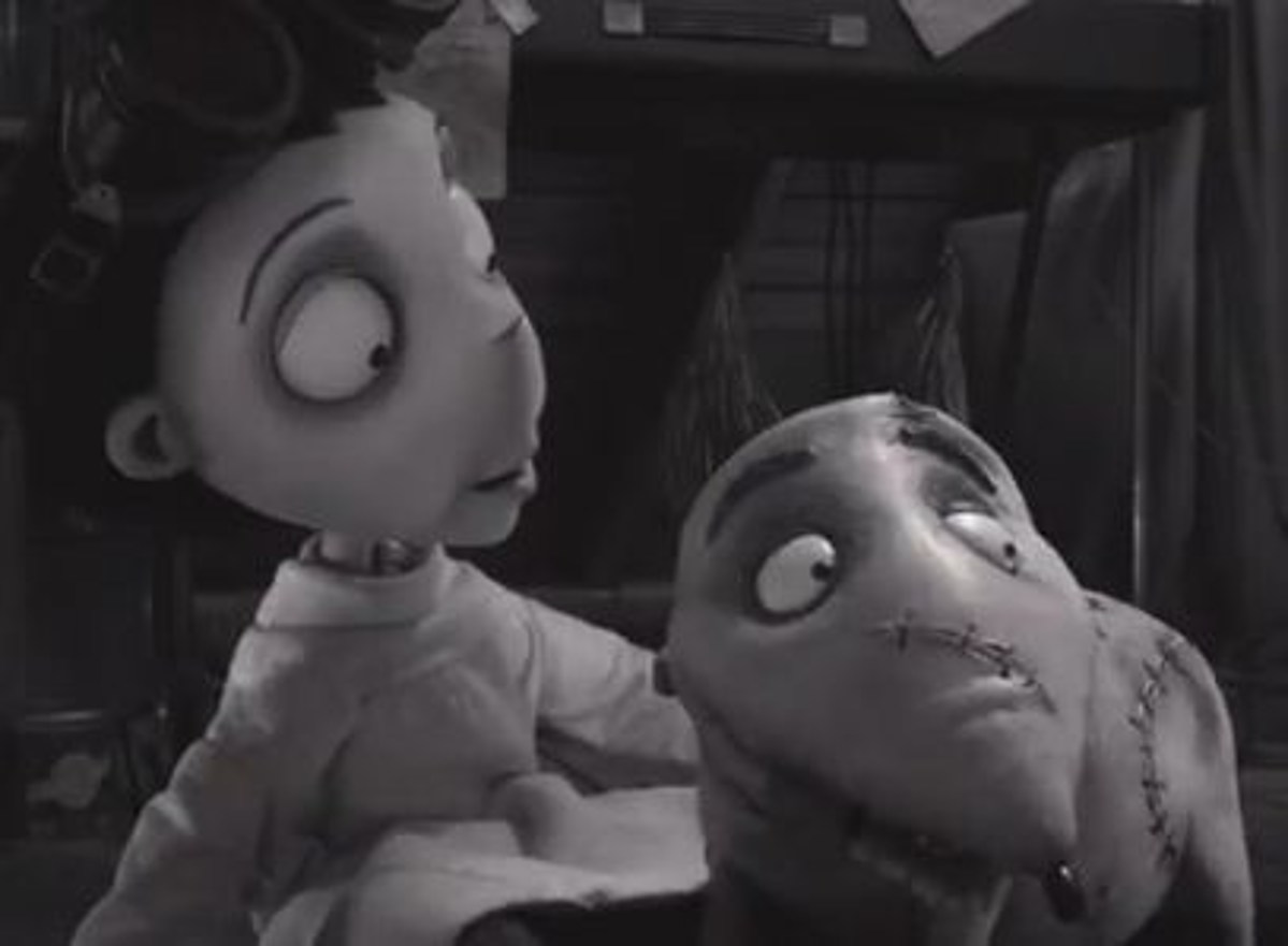 Tim Burton S Frankenweenie Is Actually A Remake Of One Of His Live Action Short Films