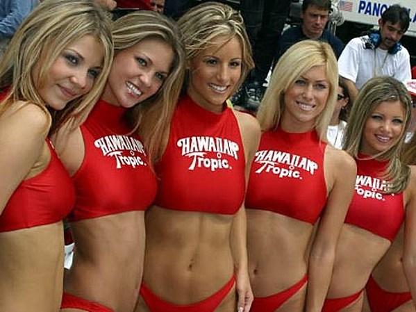 bikini Hawaiian girls tropic