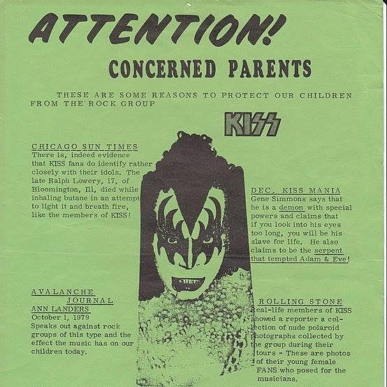 Check Out This Anti-KISS Flyer From Lubbock in 1979