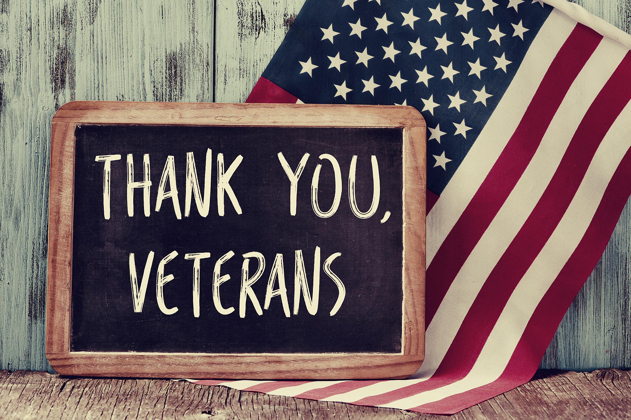 2018 Veterans Day Restaurant Specials: