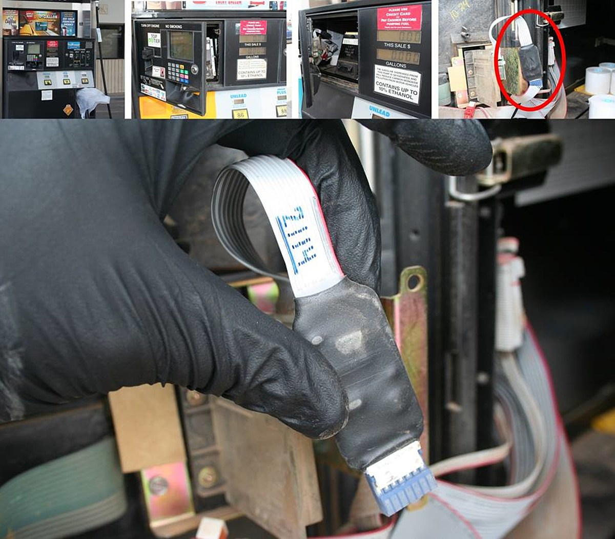 Lubbock Police Discover Credit Card Skimmers At Gas Station
