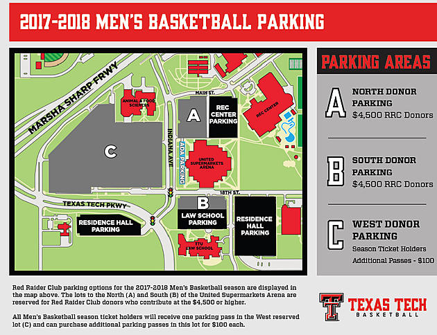 Texas Tech Athletics Moves Free Parking for Red Raider ...