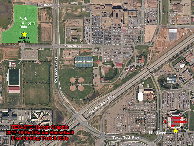 Texas Tech Athletics Moves Free Parking for Red Raider Basketball