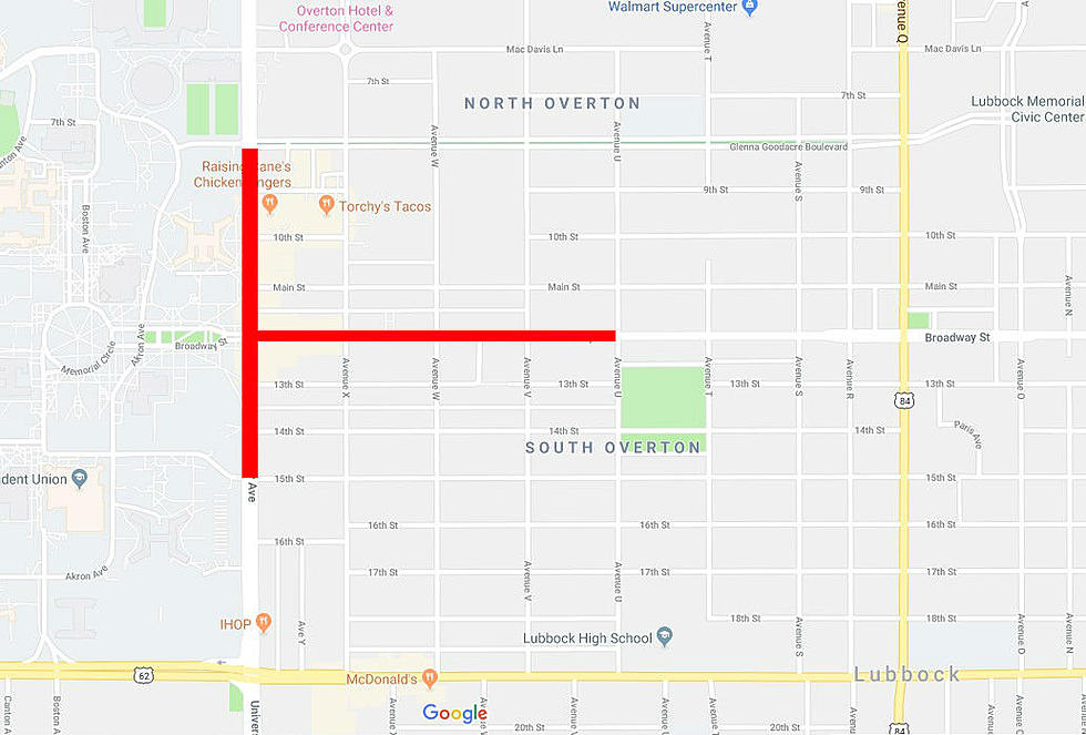 Lubbock Police Confirm Road Closures Around Texas Tech On Monday