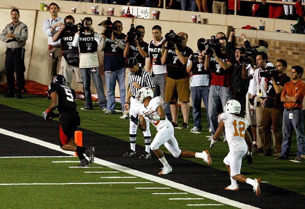Texas Tech Vs Texas 2008 Throwback Game Of The Week
