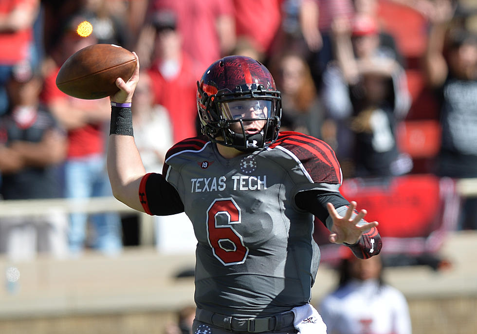 pretty nice 5a67d 04f3e Baker Mayfield Didn't Come to Texas Tech to Be a Towel Boy