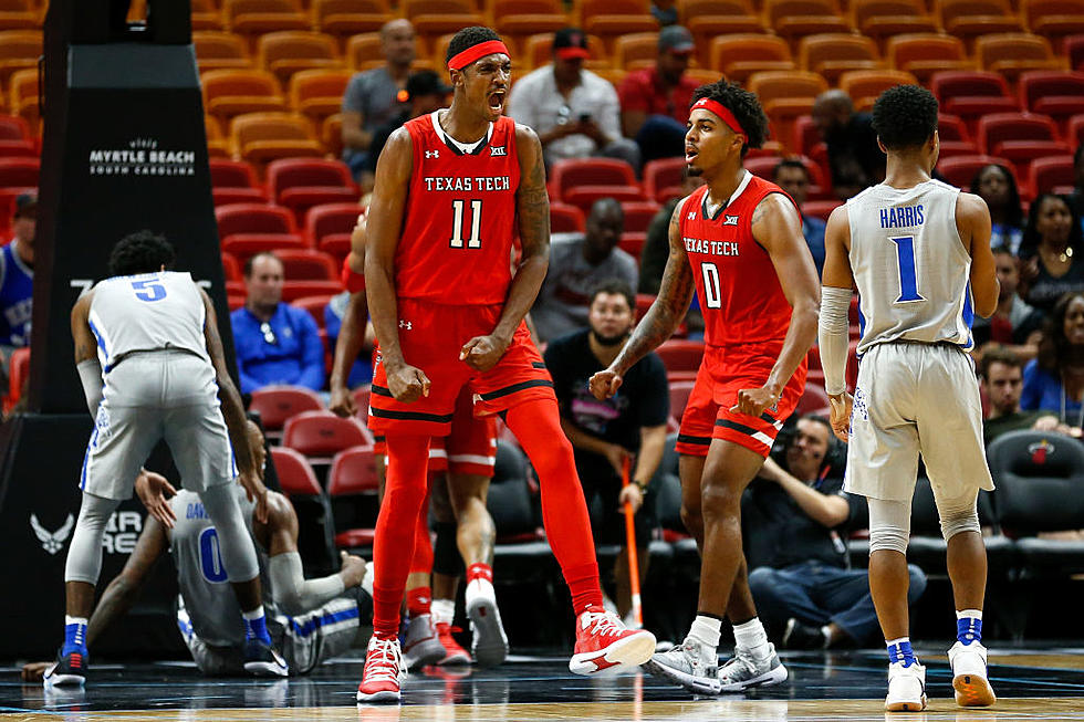 Texas Tech Men S Basketball Ranked No 13 After Latest Poll