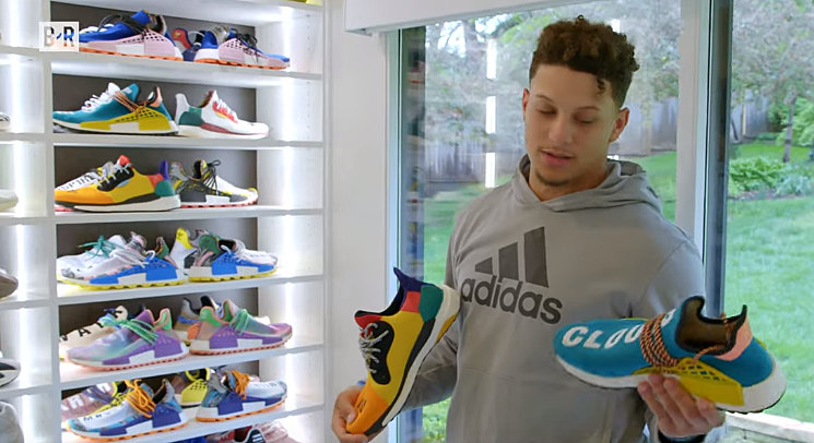 Patrick Mahomes Gets an Entire Room