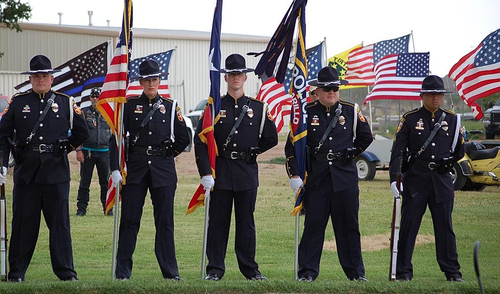 Honoring Local Police Officers for Peace Officers Memorial Day