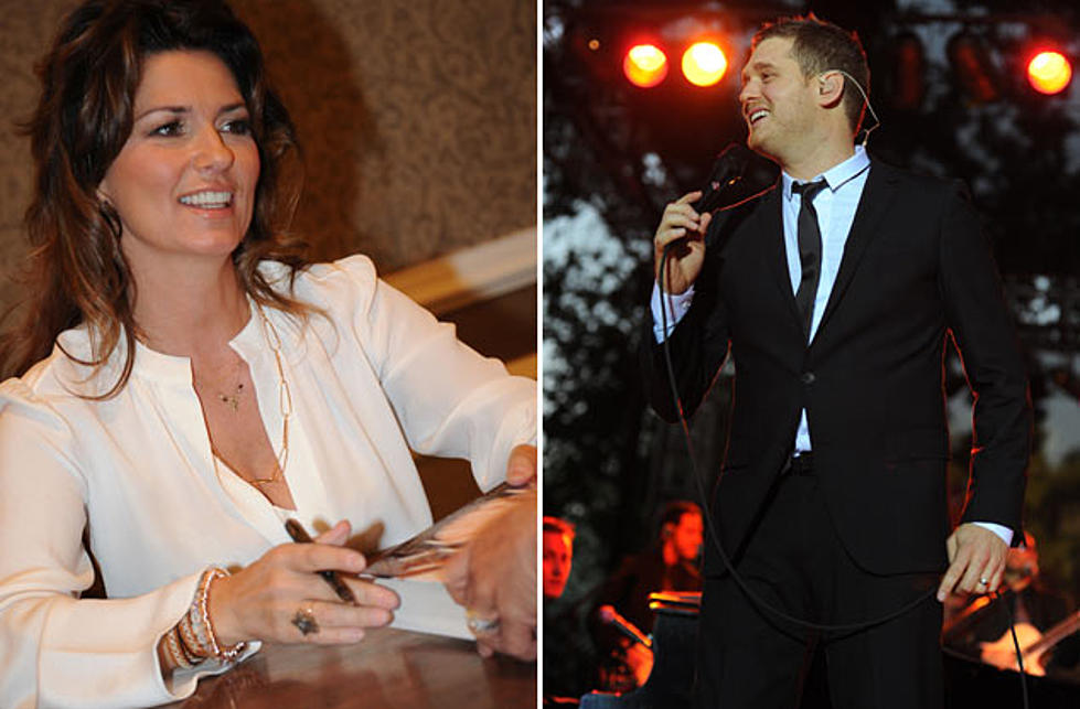 Michael Buble White Christmas.Shania Twain Joins Michael Buble On New Christmas Album