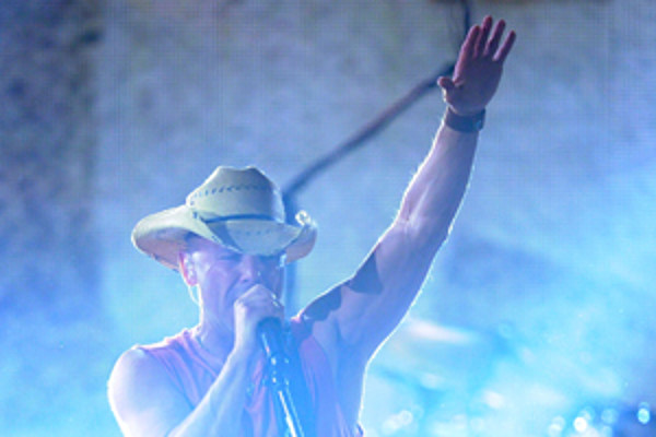 Country Stars Without Their Hats Kenny Chesney