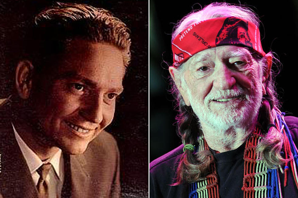 Willie Nelson Then And Now