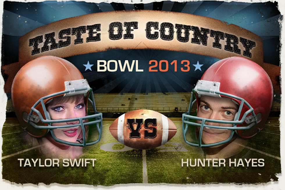 Taylor Swift vs  Hunter Hayes – Taste of Country Bowl 2013