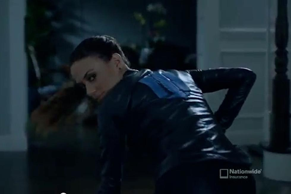Jana Kramer Is a Super Sleuth in Nationwide Insurance Commercial