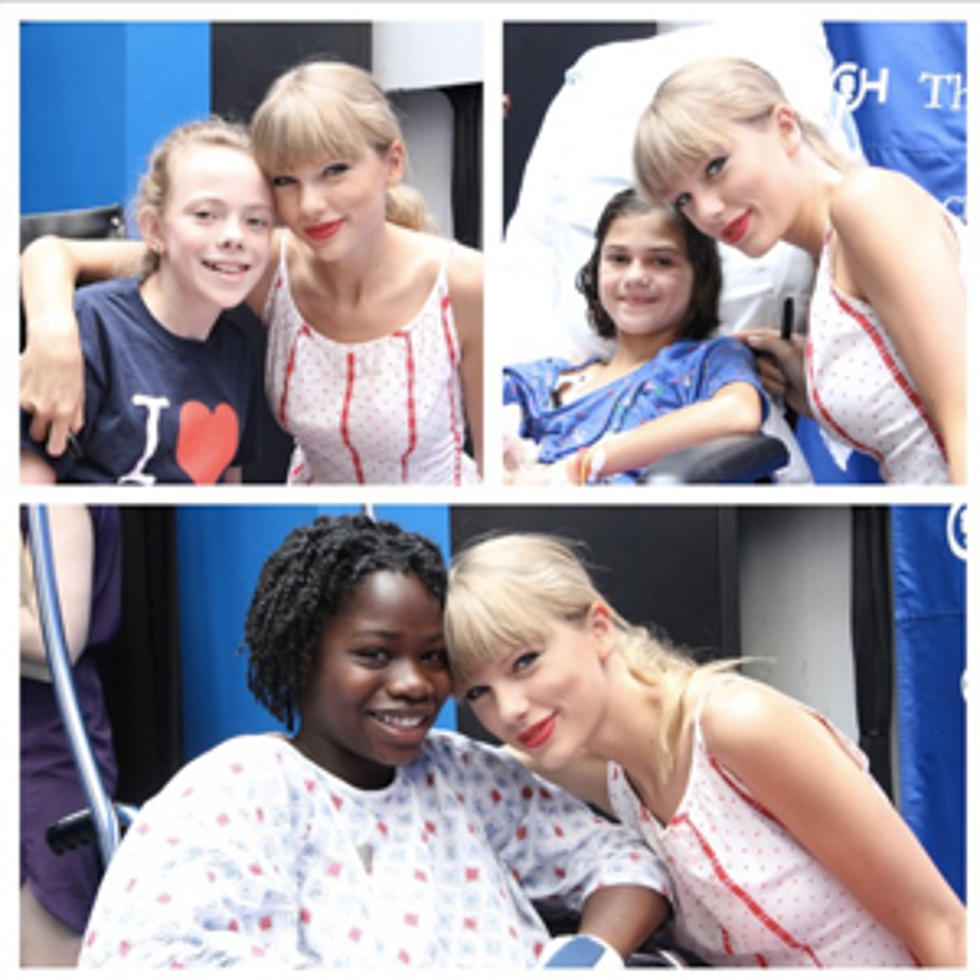 Taylor Swift Visits Children S Hospital Meets Special Sick Fan In Philadelphia