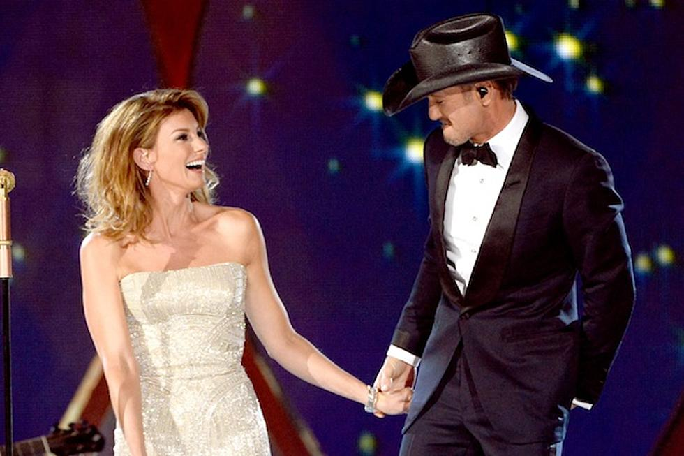 Tim Mcgraw Left Breathless After Seeing Faith Hill S Acm Dress