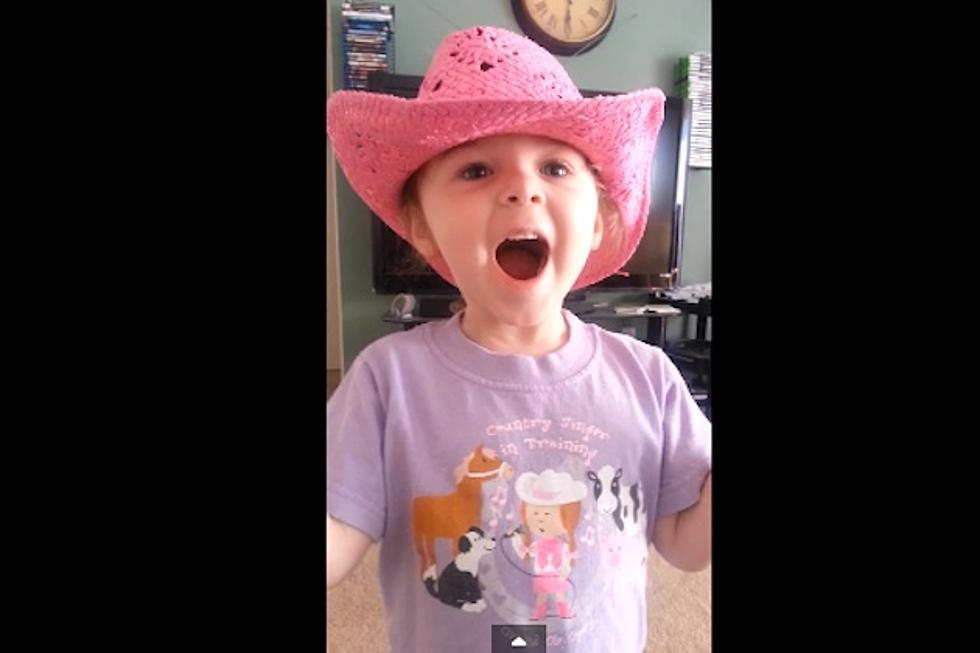 Cute Kids Singing Country Songs, Glen Templeton's 'Ball Cap'