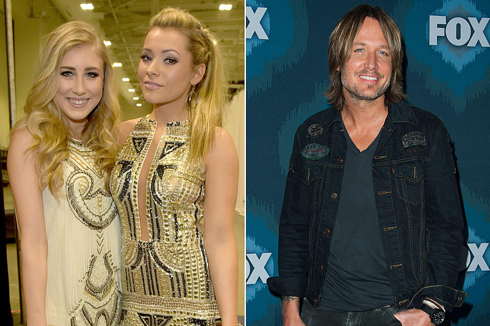Maddie & Tae Prank Keith Urban With Fake 'Idol' Audition