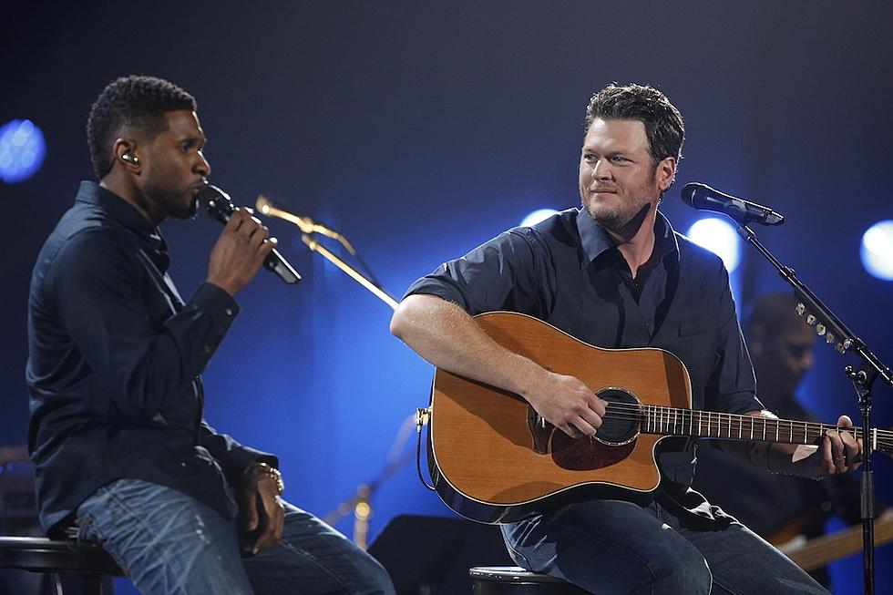 Usher Goes Country With Cover of Blake Shelton, 'Neon Light'