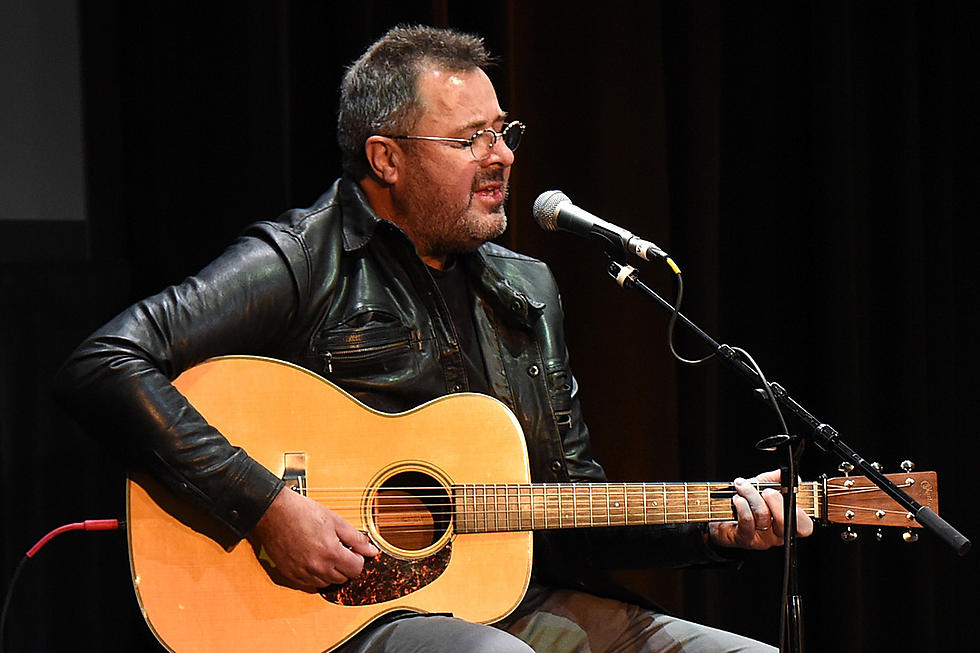 Vince Gill Debuts Song He Wrote for Merle Haggard