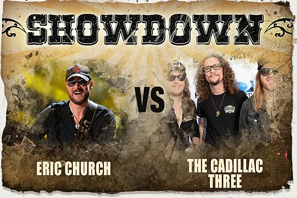 The Showdown Eric Church Vs The Cadillac Three