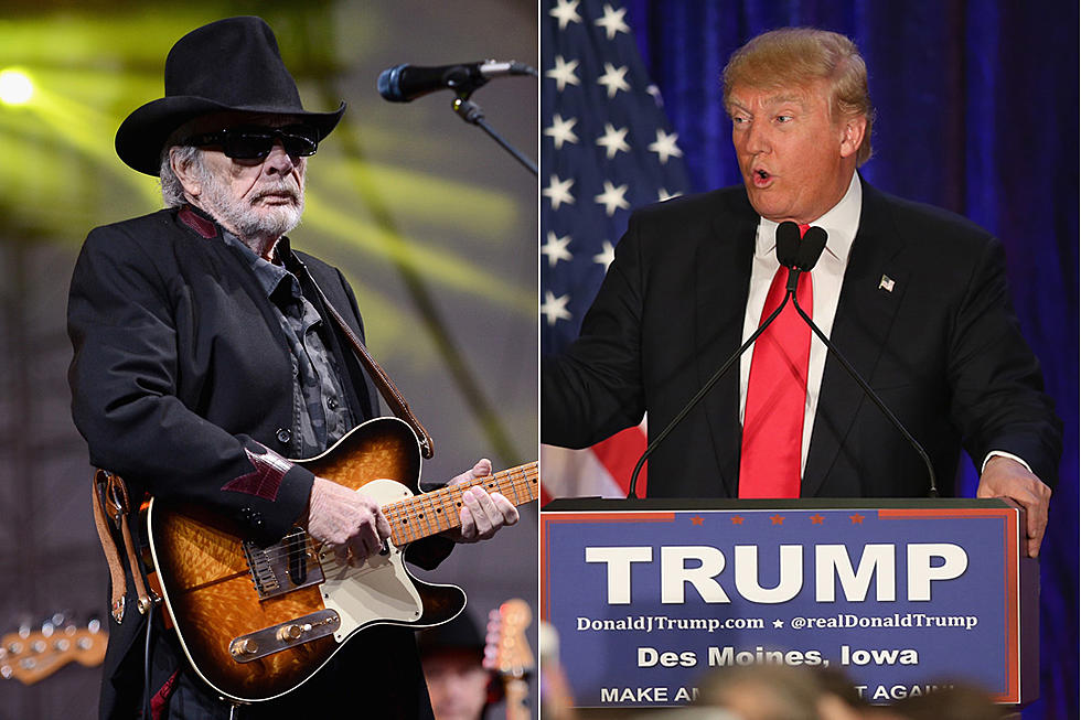Merle Haggard Weighs in on Donald Trump Campaign