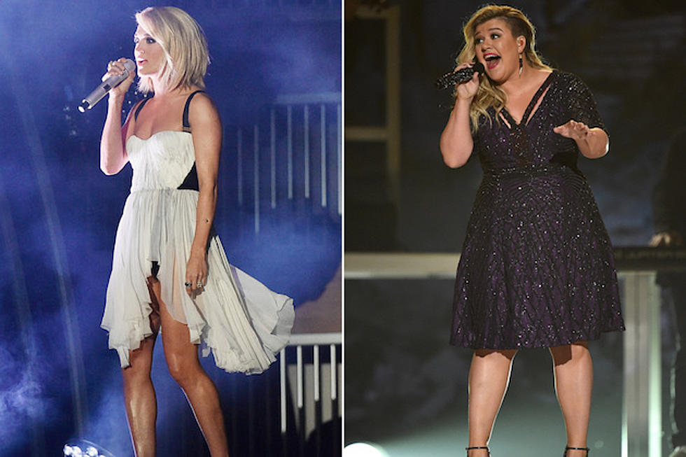 Carrie Underwood Kelly Clarkson Book American Idol Finale