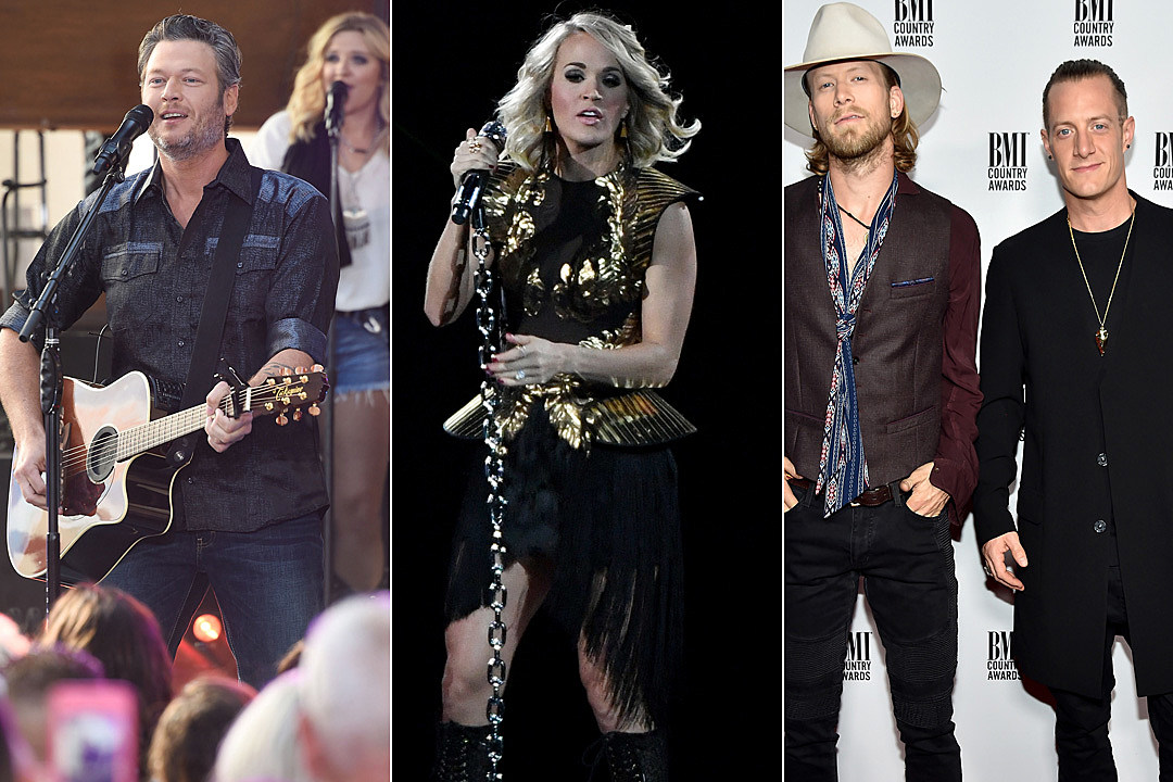 Top 40 Country Songs of 2016