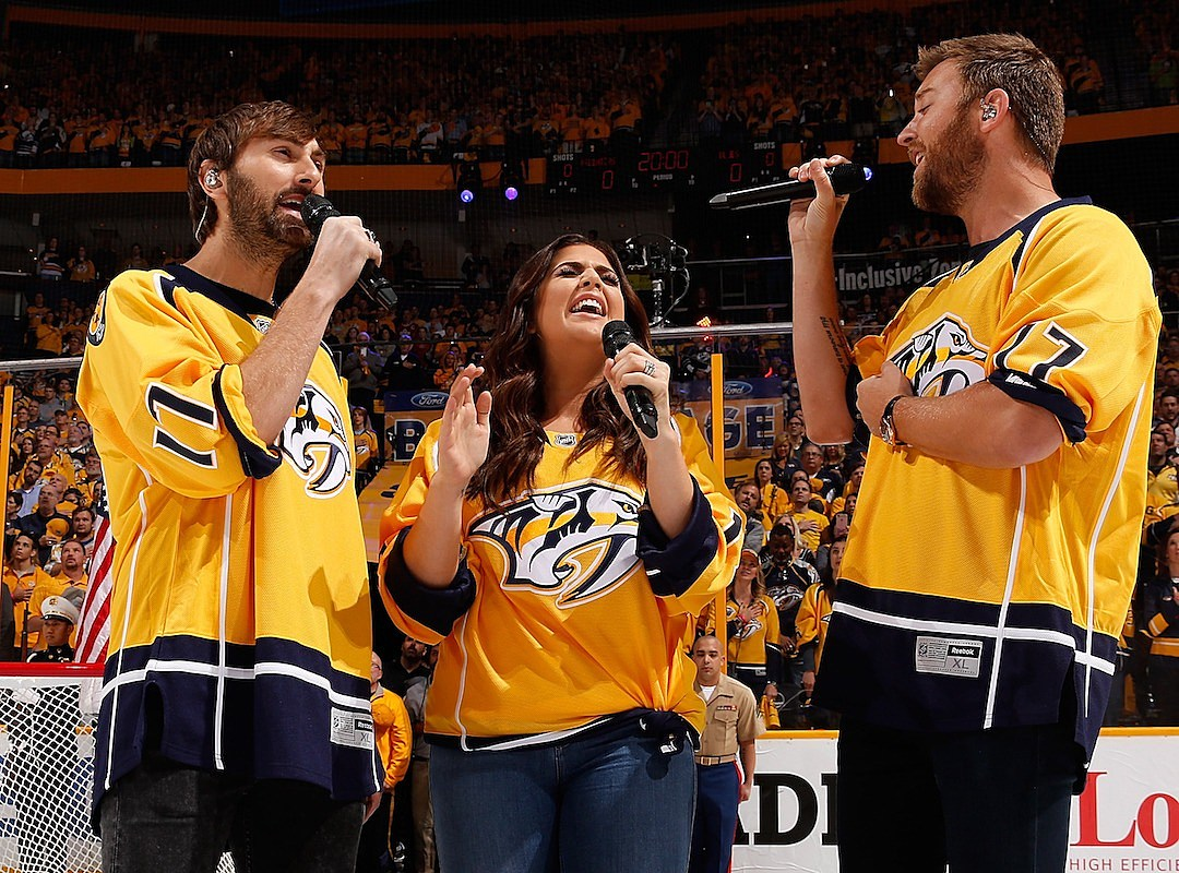 9a92c99329dd We re Loving Country Stars Singing the National Anthem!
