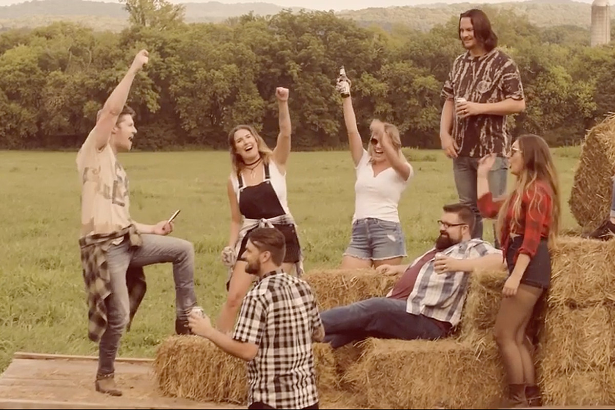 Home Free Throw A Party On The Farm In Hillbilly Bone Cover Watch