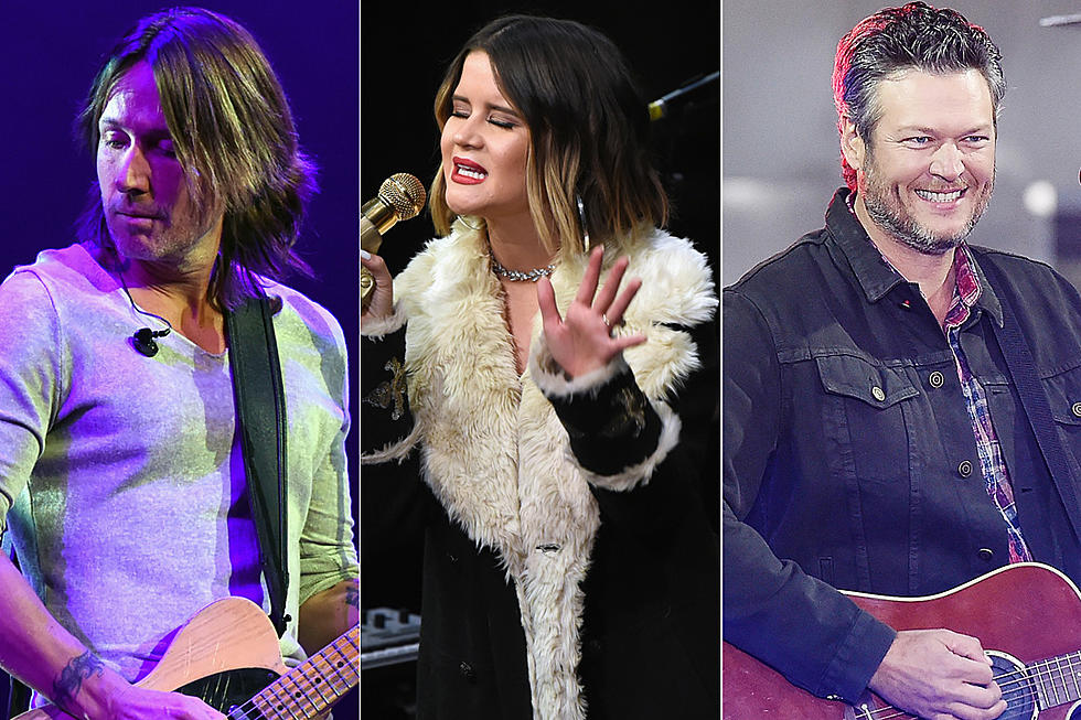 Top 40 Country Songs for January 2018