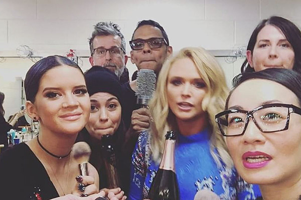 Maren Morris Glam Jams No Scrubs With Miranda Lambert