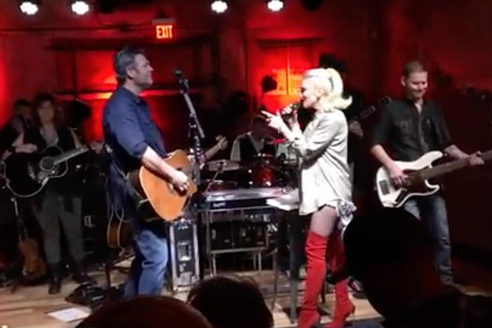 Blake Shelton, Gwen Stefani Send Hometown Crowd Into a Frenzy