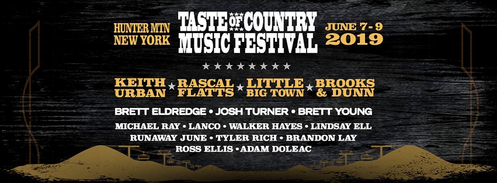 2019 Country Music Festivals Guide