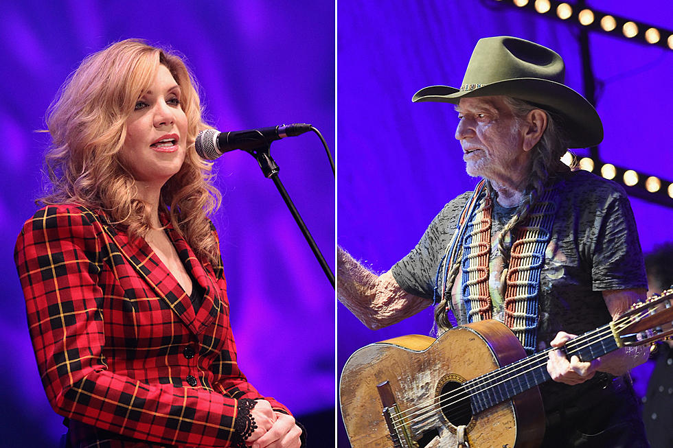 Alison Krauss Reveals 2018 Tour With Willie Nelson