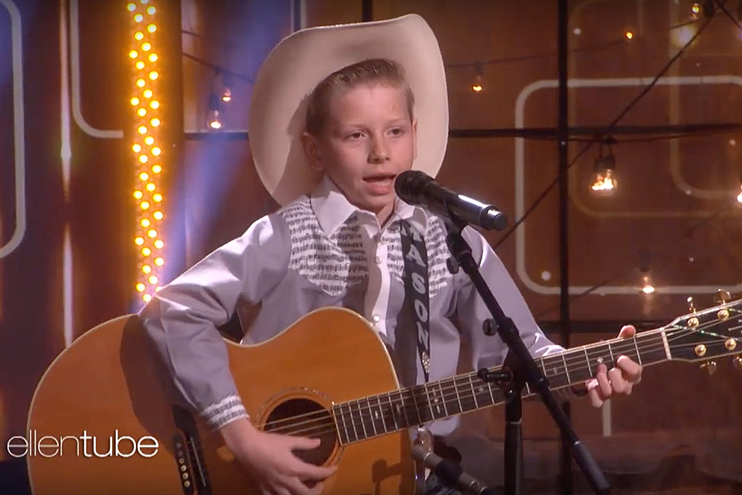 0d16e3bf2b0 'Walmart Boy' Mason Ramsey Has Yodeled His Way to 'Ellen'