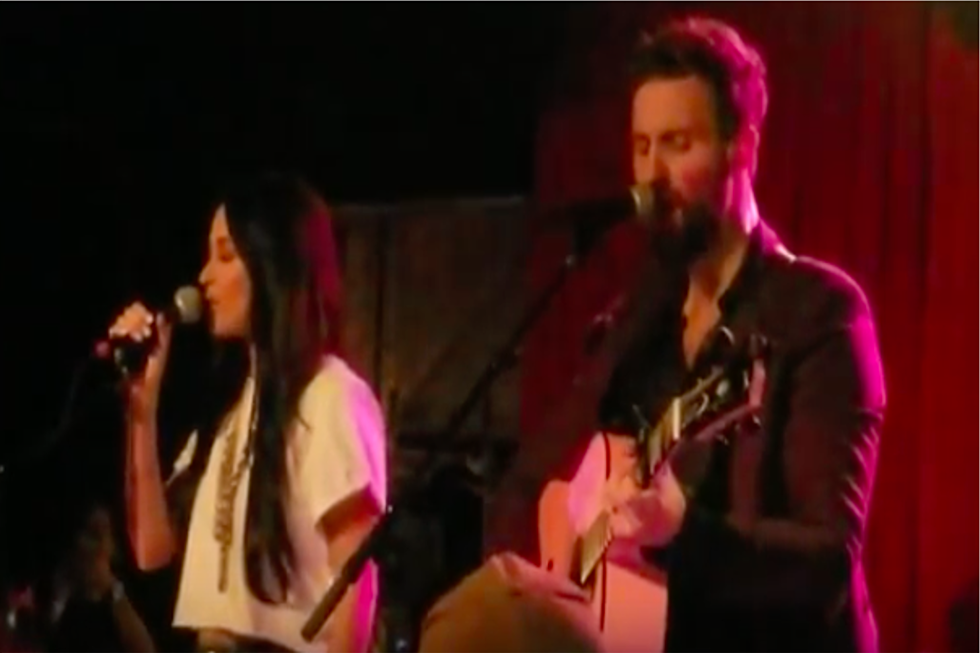 Kacey Musgraves Shares the Stage with Hubby Ruston Kelly [Watch]