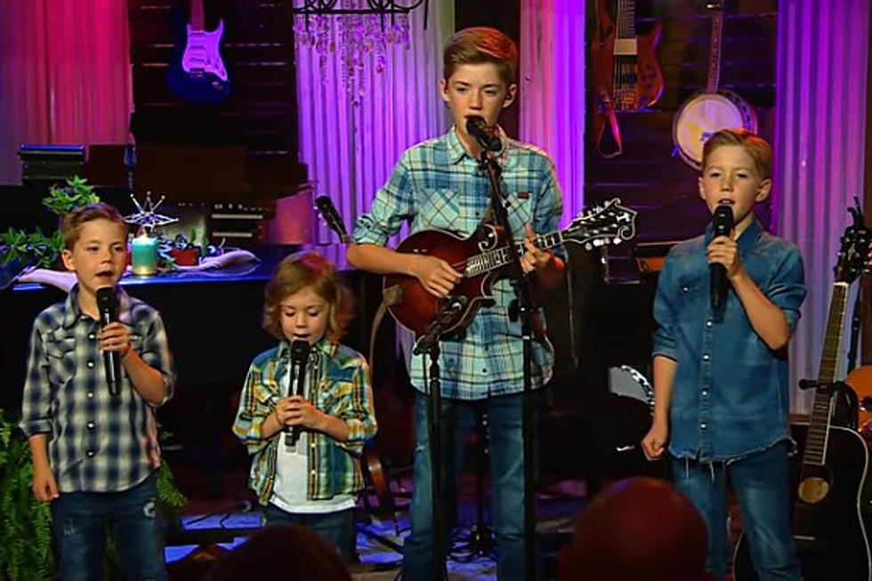 Josh Turner S Four Sons Sing The River Of Hiness Live Watch