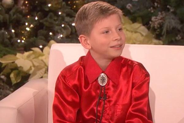 Watch Mason Ramsey Reveals His Celeb Crush On Ellen