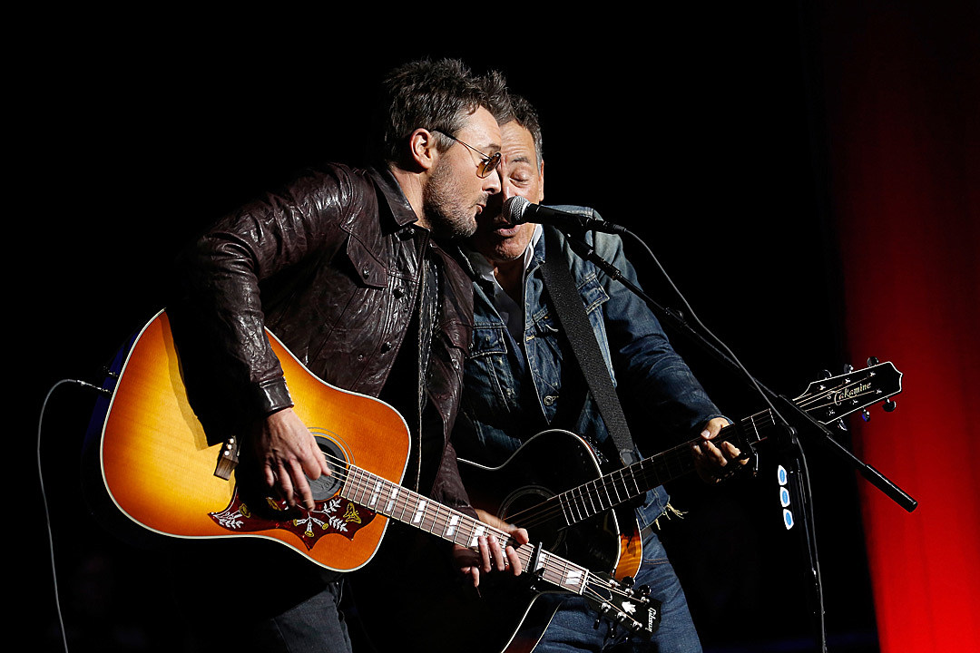Eric Church Bruce Springsteen Team For Working On The Highway